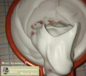 Пена формулы 4.02 фото ТДС мыло для бритья