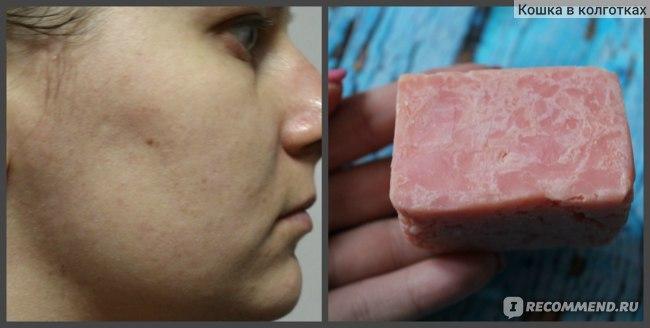 Розовое мылко привлекло внимание своим внешним видом и стало любимым на долгие месяцы!
