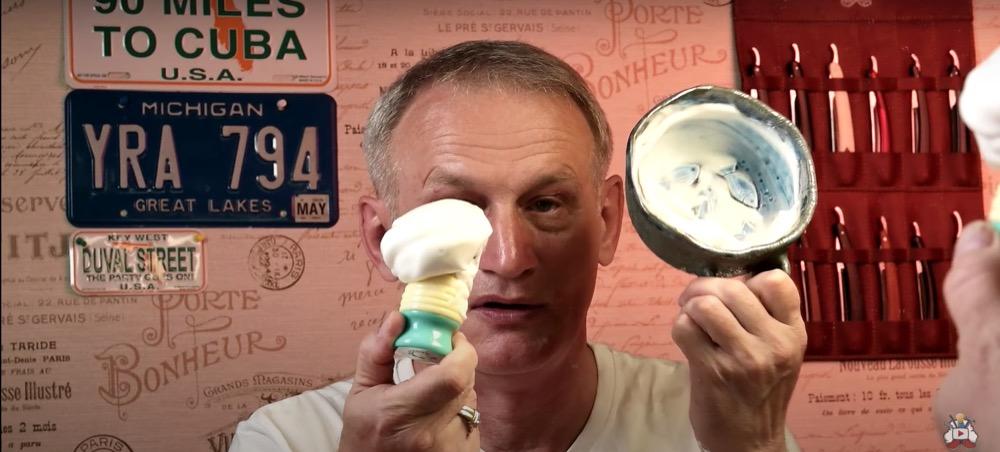 Мыльная палочка для бритья ТДС с красным ароматом. Стик. Видеообзор от ХЛШ. Мыло для бритья. TDS shaving soap.