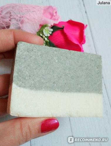 Классное соляное мыло! Легкое скрабирование, Качественное очищение, без сухости и стянутости!
